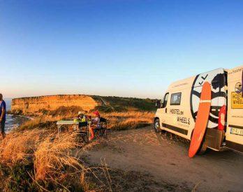 HOW Campers - Campervan Sunset