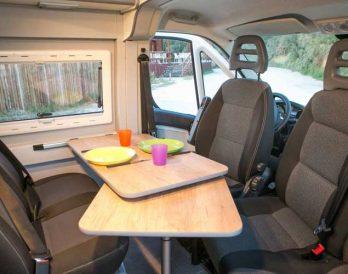 HOW Campers - Campervan Interior 1