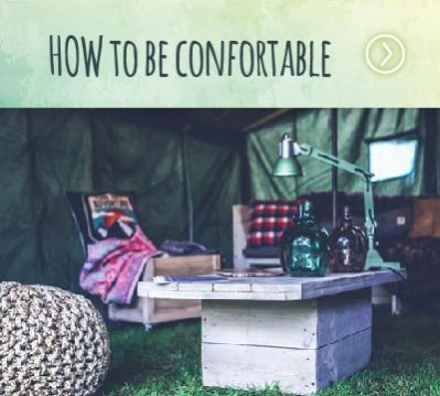 HOW Campers - HOW to be confortable