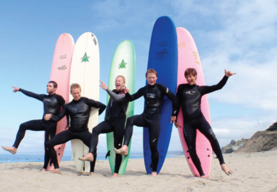 HOW Campers - Partners - International Surf School